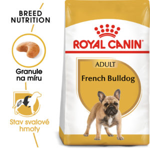 Royal Canin French Bulldog Adult - granule pro dospělého francouzského buldočka - 3kg