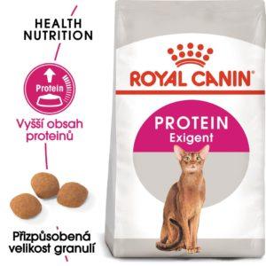 Royal Canin Protein Exigent - granule pro mlsné kočky - 10kg