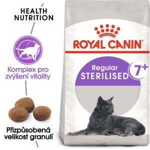 Royal Canin Sterilised 7+ - granule pro stárnoucí kastrované kočky - 3