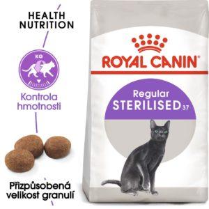 Royal Canin Sterilised - granule pro kastrované kočky - 10kg