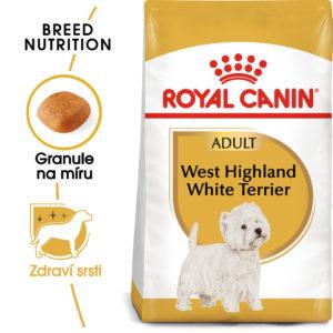 Royal Canin Westie Adult - granule pro dospělého westíka - 3kg