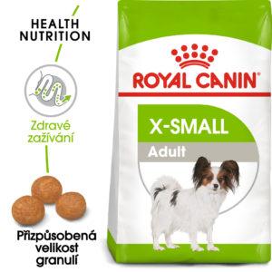 Royal Canin  X-Small Adult - granule pro dospělé trpasličí psy - 3kg