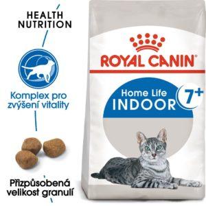 Royal Canin cat INDOOR + 7 - granule pro stárnoucí kočky žijící uvnitř - 1