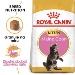 Royal Canin cat KITTEN MAIN COON -  granule pro mainská mývalí koťata - 10kg
