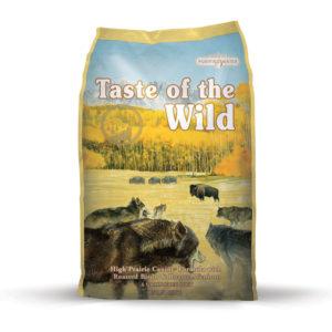 TASTE WILD high PRAIRIE - 13kg