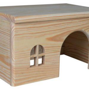 Trixie   hlod. DOMEK dřevěný pro morče - 28x16x18cm
