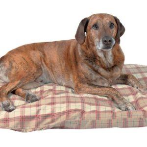 Trixie polštář JERRY krémovo/béžová kostka - 80x55cm
