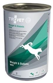 Trovet  dog (dieta)  Weight a Diabetic WRD  konzerva - 400g