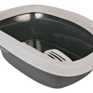 WC  CARLO 1  31 x 14 x 43cm - Šedé