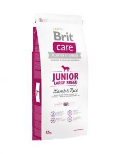 Brit Care dog Junior Large Breed Lamb & Rice - 2x12kg