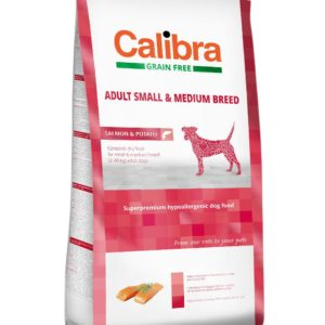 CALIBRA dog GF ADULT medium losos - 12kg