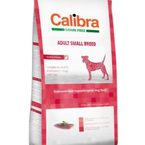 CALIBRA dog GF ADULT small kachna - 7kg
