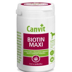 CANVIT  dog  BIOTIN MAXI ochucené nad 25kg - 500g