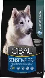 CIBAU SENSITIVE FISH/rice MEDIUM/MAXI - 12kg