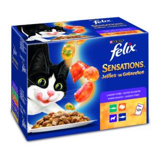 FELIX kapsa SENSATIONS Jellies - 24x100g