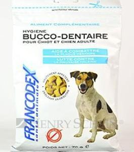 FRANCODEX dog  poch. DENTAL BREATH - 70g