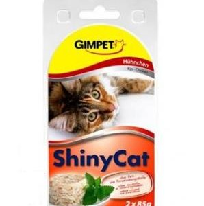 GIMPET SHINYcat   kuře - 2x70g