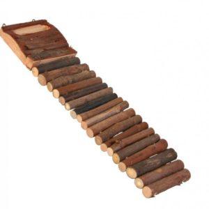 HRAČKA  hlod. ŽEBŘÍK dřevěný - 7x27cm
