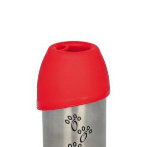 Láhev kovová s plastovou miskou - 750ml