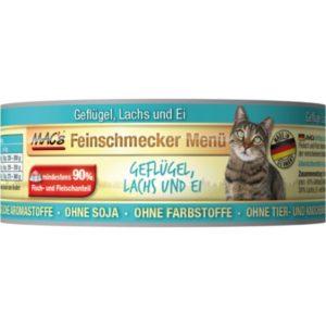MACs  cat  konz. feinschmecker GEFLUGEL/LACHS - 100g