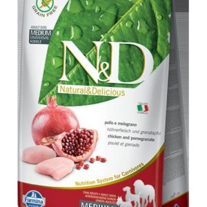 N&D dog GF ADULT MEDIUM CHICKEN/POMEGRANATE - 2