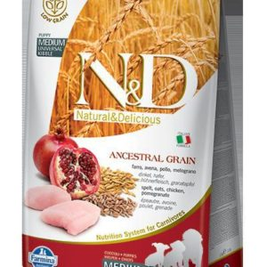 N&D dog LG PUPPY MEDIUM CHICKEN/POMEGRANATE - 800g