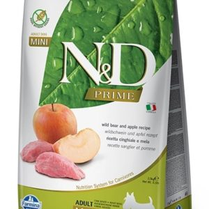 N&D dog PRIME ADULT MINI boar/apple - 7kg