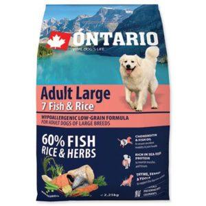 ONTARIO dog  ADULT LARGE fish - 12kg