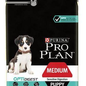 Purina Pro Plan Dog Medium Puppy Sensitive Digestion - 12kg
