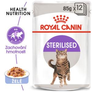 RC cat STERILISED JELLY - kapsička v pro kastrované kočky v želé - 85g