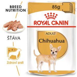 Royal Canin Chihuahua Loaf - kapsička s paštikou pro čivavu - 85g