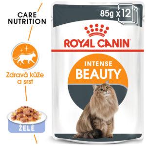 Royal Canin Intense Beauty Jelly - kapsička pro kočky v želé - 85g