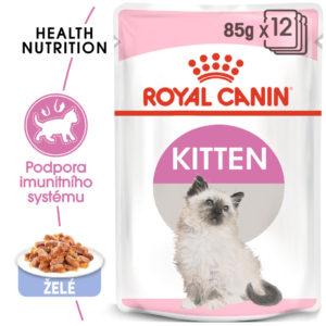 Royal Canin Kitten Instinctive Jelly - kapsička pro koťata v želé - 85g