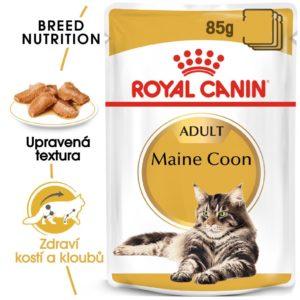 Royal Canin Maine Coon Loaf kapsička s paštikou pro mainské mývalí kočky - 85g