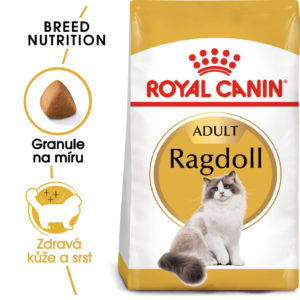 Royal Canin Ragdoll Adult - granule pro ragdoll kočky - 10kg