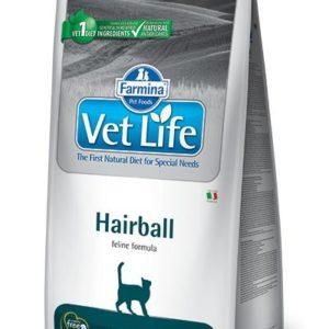 VET LIFE  cat  HAIRBALL natural - 10kg