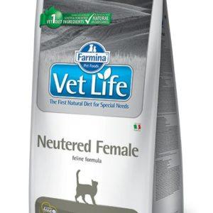 VET LIFE  cat  NEUTERED FEMALE natural - 10kg