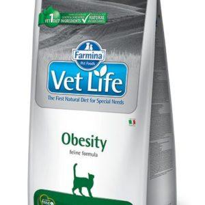 VET LIFE  cat  OBESITY  natural - 10kg