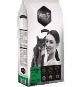 AMITY premium cat  CHICKEN/rice - 2 x 10kg