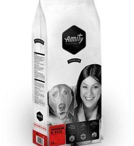 AMITY premium dog CHICKEN/rice - 2 x 15kg