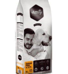 AMITY premium dog IBERIAN pork/rice - 2 x 15kg