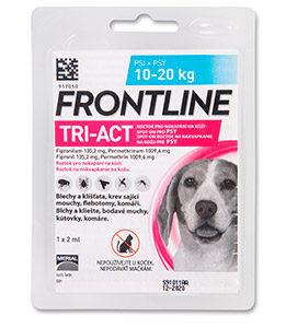 Antipar. spot-on FRONTLINE TRI-act - 40-60kg