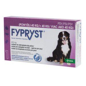 Antiparazitní spot-on FYPRYST pro psy - Xl (nad 40kg)