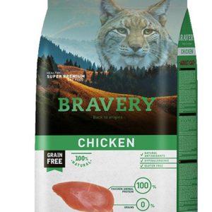 BRAVERY cat  ADULT chicken - 400g