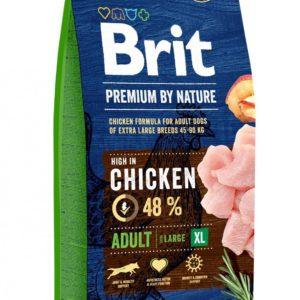 BRIT dog Premium by Nature ADULT XL - 15kg