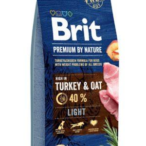 BRIT dog Premium by Nature LIGHT - 15kg