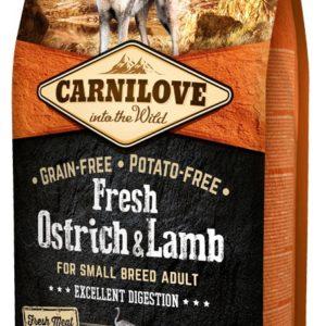 CARNILOVE dog FRESH ADULT SMALL OSTRICH/lamb - 1