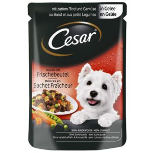 CESAR kapsa   100g - S kuřecím a mrkví/želé