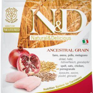 N&D cat LG NEUTERED CHICKEN / POMEGRANATE - 10kg