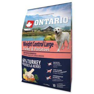 ONTARIO dog WEIGHT CONTROL LARGE turkey - 12kg
